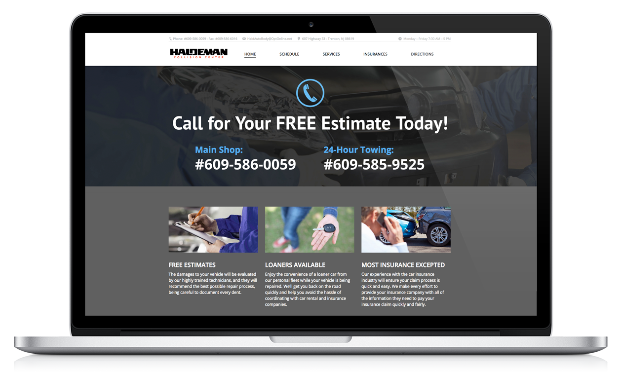 Auto Body Websites | Website Design for Body Shops