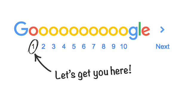 Let's get you to the first page of Google!
