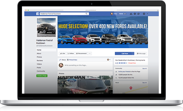 let us manage your social media so you can focus on running your dealership